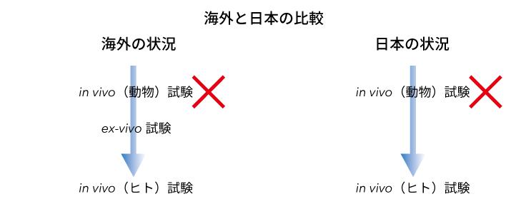 海外と日本の比較