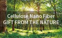 Cellulose Nano Fiber - GIFT FROM THE NATURE