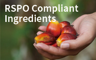 RSPO Compliant Ingredients