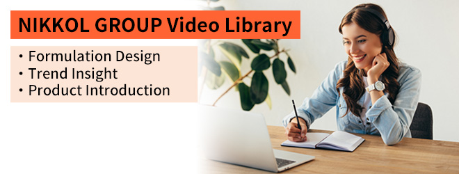 NIKKOL GROUP Video Library