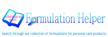 Formulation Helper