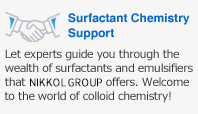 Surfactant Chemistry Support